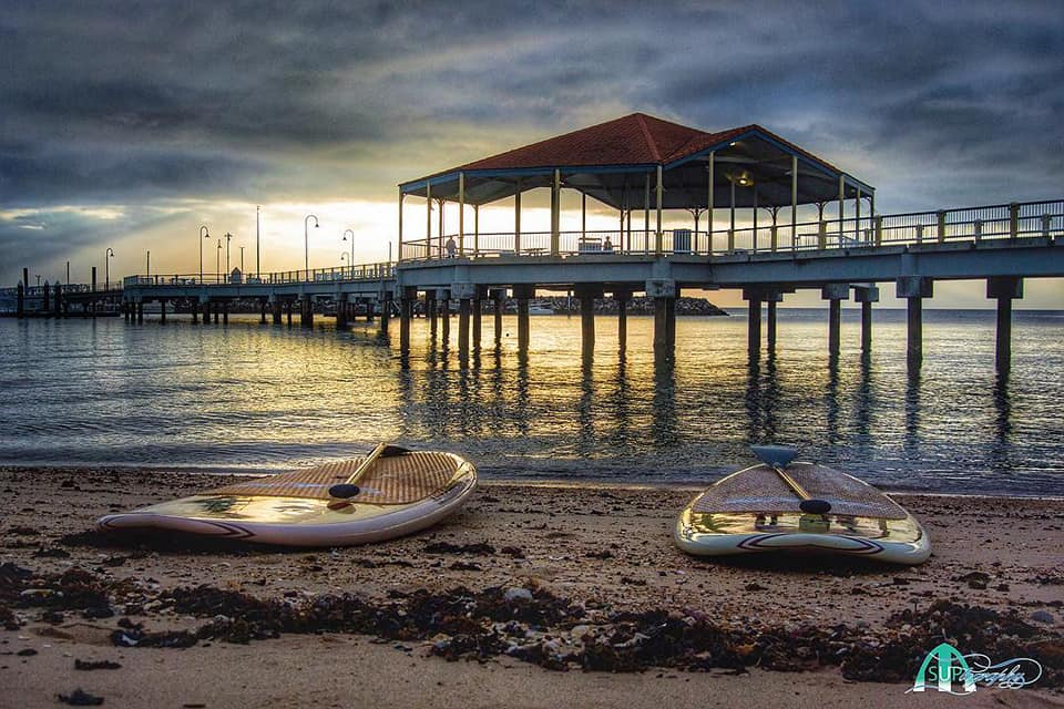 Free Parking on the beach at the Redcliffe Jetty