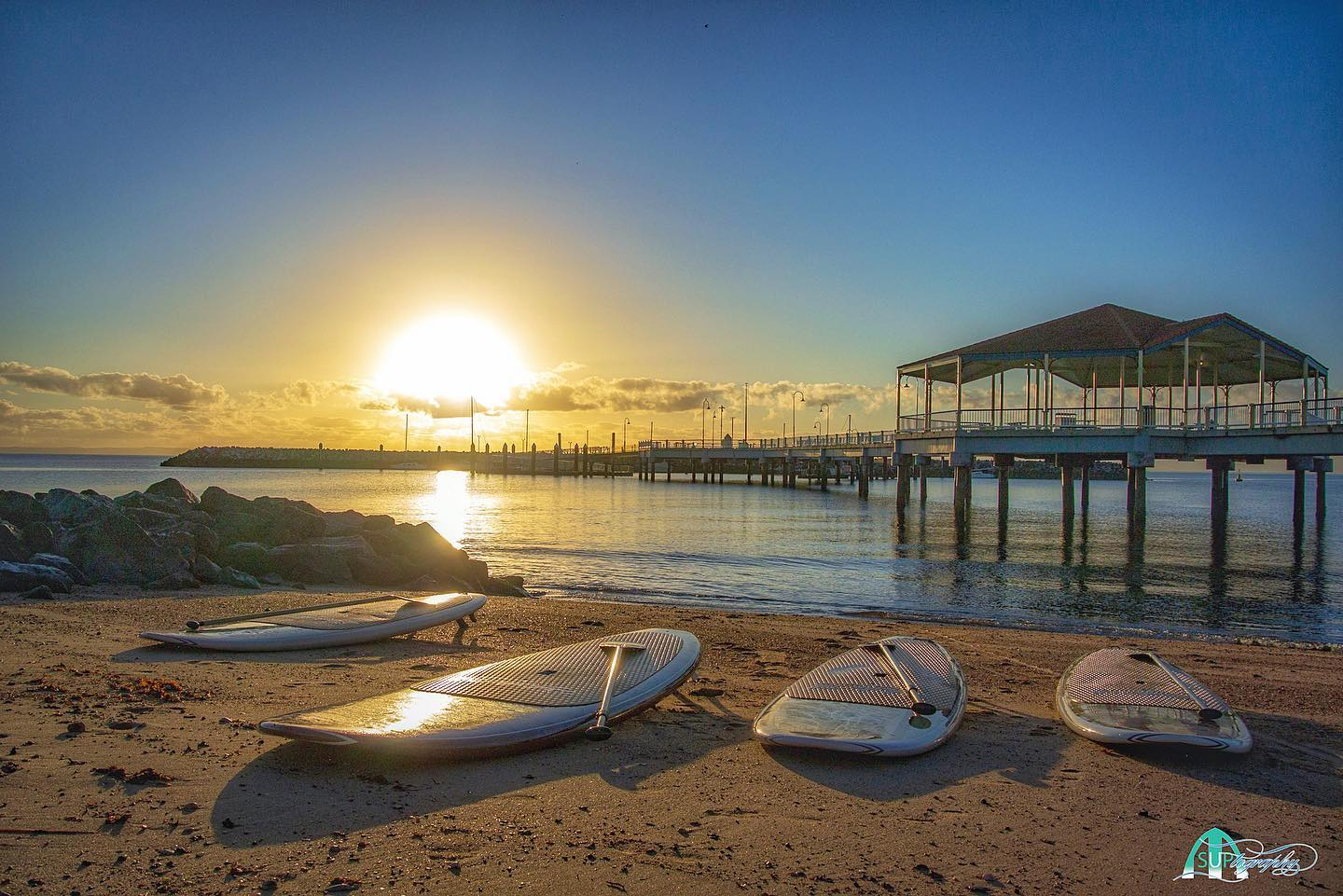 Four on the Floor, Redcliffe Jetty