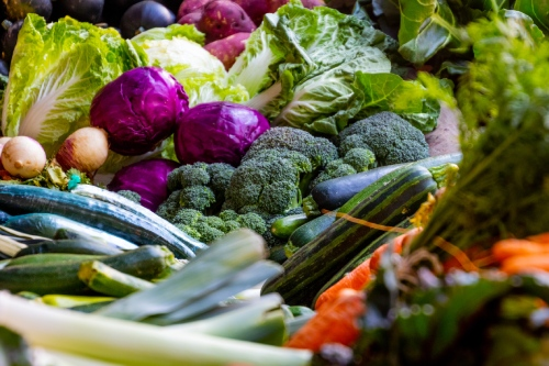 assorted vegetables at the Redcliffe markets