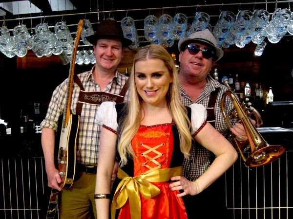 Sneaky Schnitzel Entertainers for Marchtoberfest Redcliffe