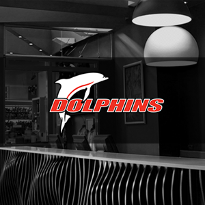 The Redcliffe Dolphins logo